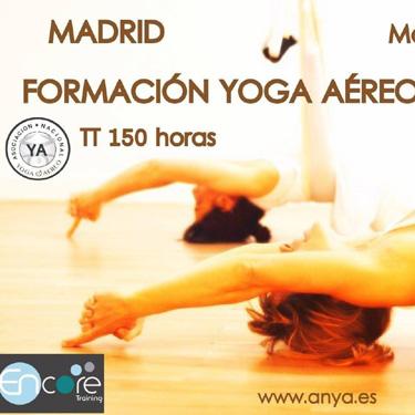 ANYA Formación Yoga Aereo Madrid Abril y Junio 2017