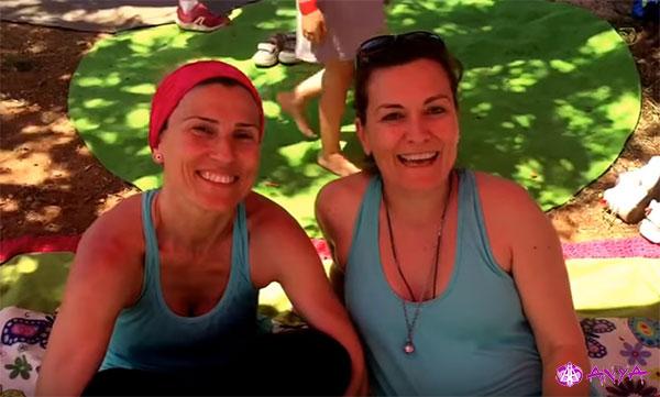 Testimonio de Silvia y Aida, alumnas de Anya Yoga Aérea, y el Yoga Swing