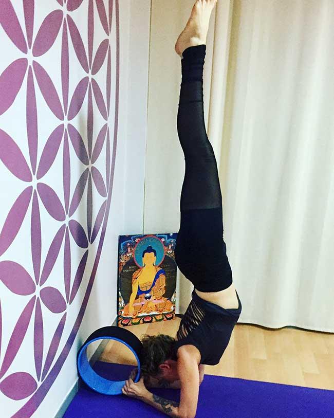 WorkShop Yoga Wheel_17 Junio 2017 en Studio Latika - Almería